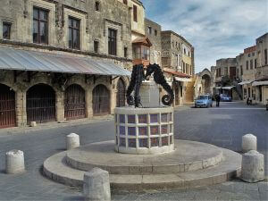 The Square of the Martyred Jews, Rhodes Exclusive Tours