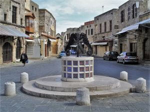 The Square of the Martyred Jews, Custom tours in Rhodes