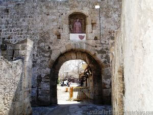 Knights of St John, Fortifications, Gates of the Old City of Rhodes, Island Tours of Rhodes, Rhodes Island Tours, Rhodes Island Tour