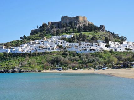 Lindos Village and Acropolis, Visit Lindos on your own pace