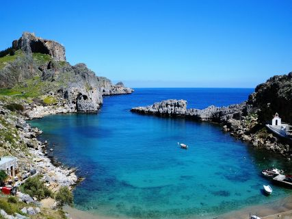 St Paul's Bay, Lindos on your own pace