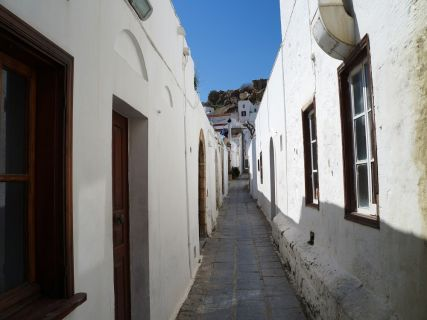 Village of Lindos, tours from Rhodes to Lindos