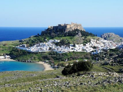 Lindos Beach, Rhodes Custom Tour