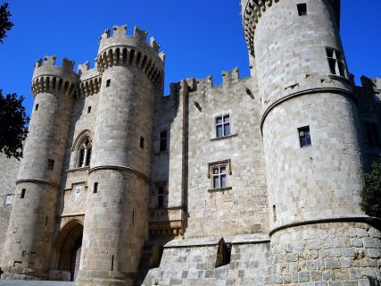 Grand Master Palace, Custom Tours in Rhodes Greece