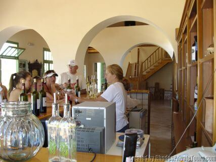 Wineries of Rhodes Greeces
