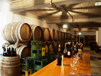 Rhodes wine tour