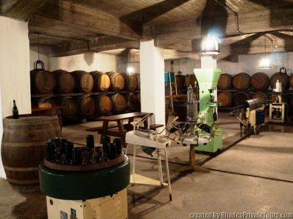 Rhodes wineries