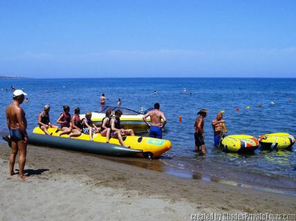 Faliraki beach, Rhodes best beach tours