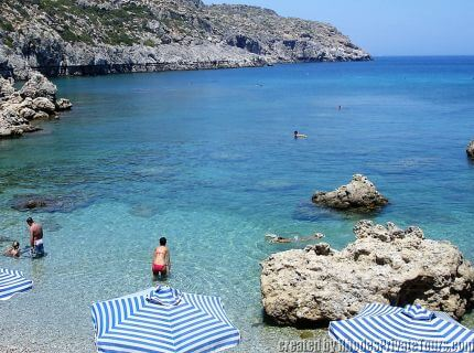 Anthony Quinn Bay tours in Rhodes