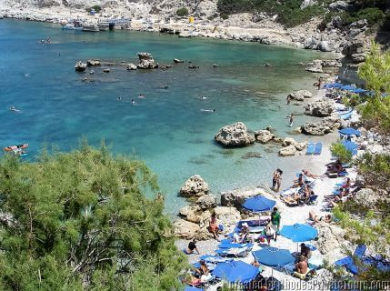 Anthony Quinn Bay, Rhodes beach tours