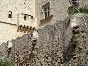 Defensive Fortifications, Palace of the Grand Masters, Rhodes Private Tours