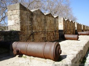 Defensive Fortifications, Palace of the Grand Masters, Tours of Rhodes