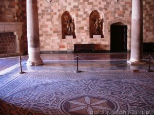 Mosaics, Palace of the Grand Masters, Rhodes Private Tours