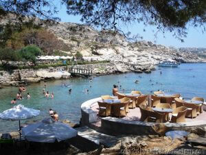 Kallithea Beach, Tours of Rhodes