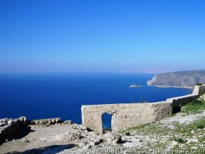 The castle of Monolithos Rhodes Greece