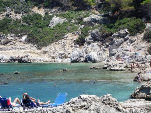 Anthony Quinn Bay, Ladiko Beach, Rhodes Greece