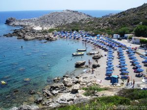 Rhodes Anthony Quinn Beach, Tours in Rhodes