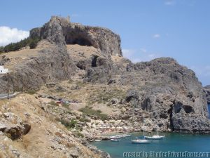 St. Paul's Bay, Lindos, Rhodes Greece, Private Tours