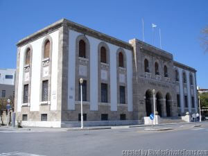 The Bank of Greece, Rhodes Tours