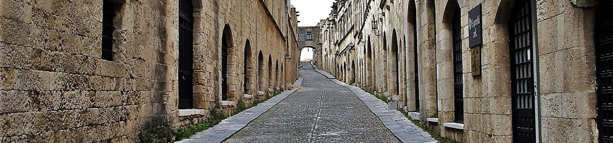 Rhodes island walking tours
