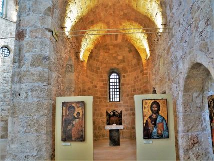 Orthodox Art - Rhodes Greece in the bible