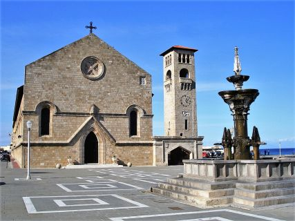 Annunciation of the Virgin Mary church in Rhodes Greece