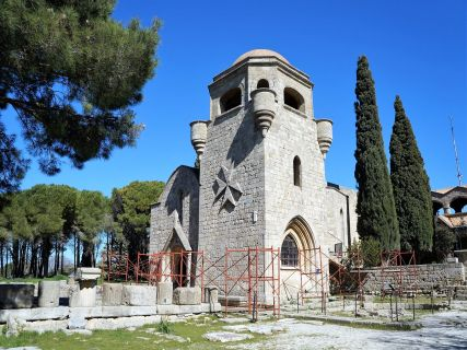 Our Lady of Filerimos church on the Acropolis of Ancient Lalisos