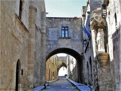 Rhodes Greece walking tours